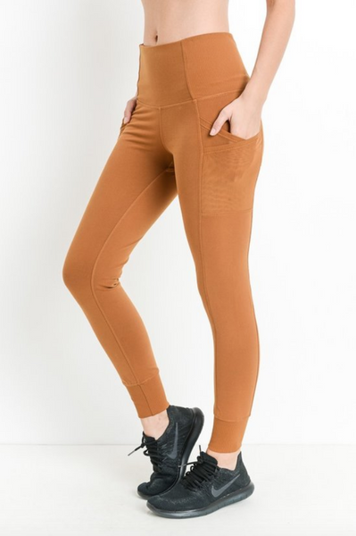MUSTARD SEED ATHLEISURE LEGGINGS
