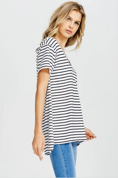CAN'T STOP STRIPE TOP