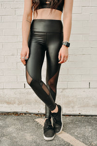 BLACK HOLE ATHLEISURE LEGGINGS