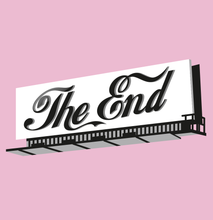 "Load image into Gallery viewer, ""The End"" Hoodie (Pink)"