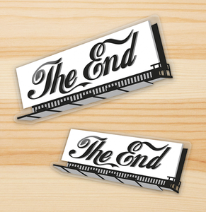 """The End"" 2 Sticker Set!"