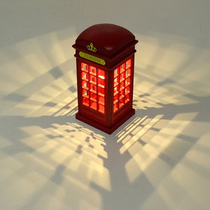 London Phone Booth (Night Light)