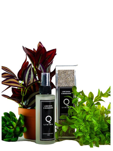 Luxury Home Spray- Lime Basil and Mandarin 100ml