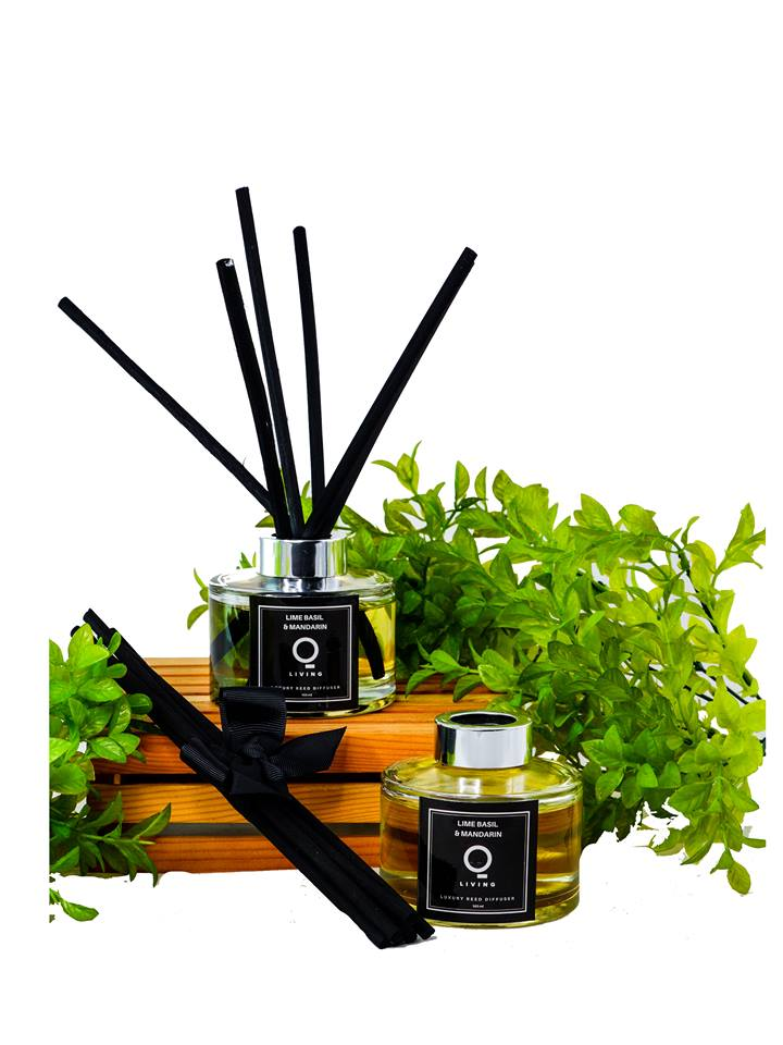 Premium Reed Diffuser- Lime Basil and Mandarin