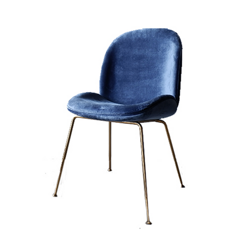 ACCENT CHAIR- MIDNIGHT BLUE