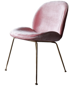 ACCENT CHAIR- BLUSH PINK