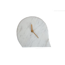 Load image into Gallery viewer, Marble Table Clock