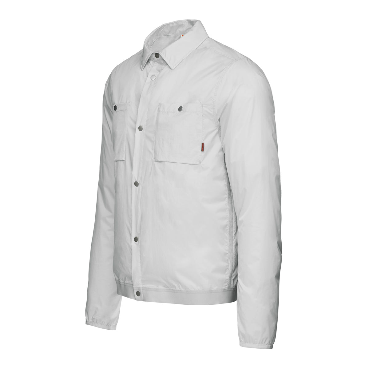 Breeze Shirt Jacket - background::white,variant::Alloy