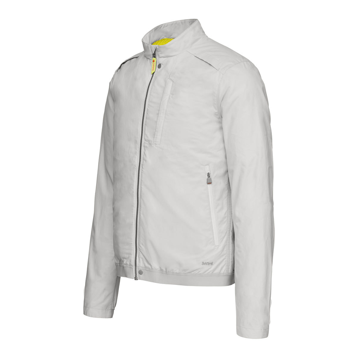 Breeze Jacket - background::white,variant::Alloy
