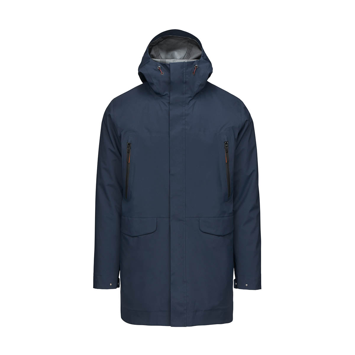 Zürich II Parka - background::white,variant::Dark Navy
