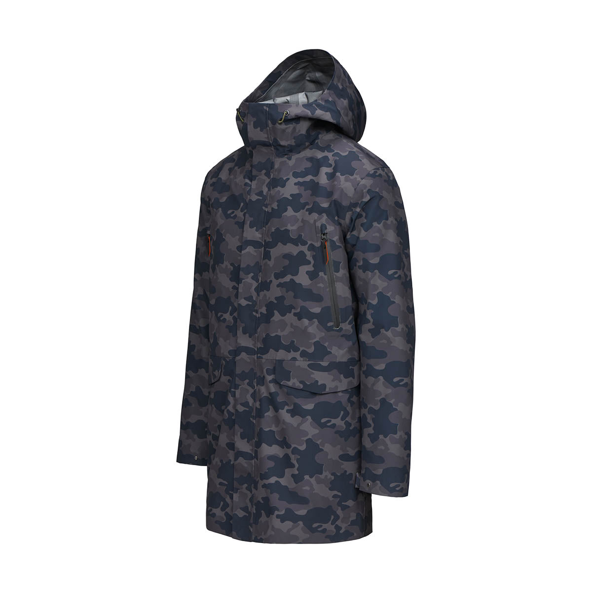 Zürich II Parka - background::white,variant::Night Camo