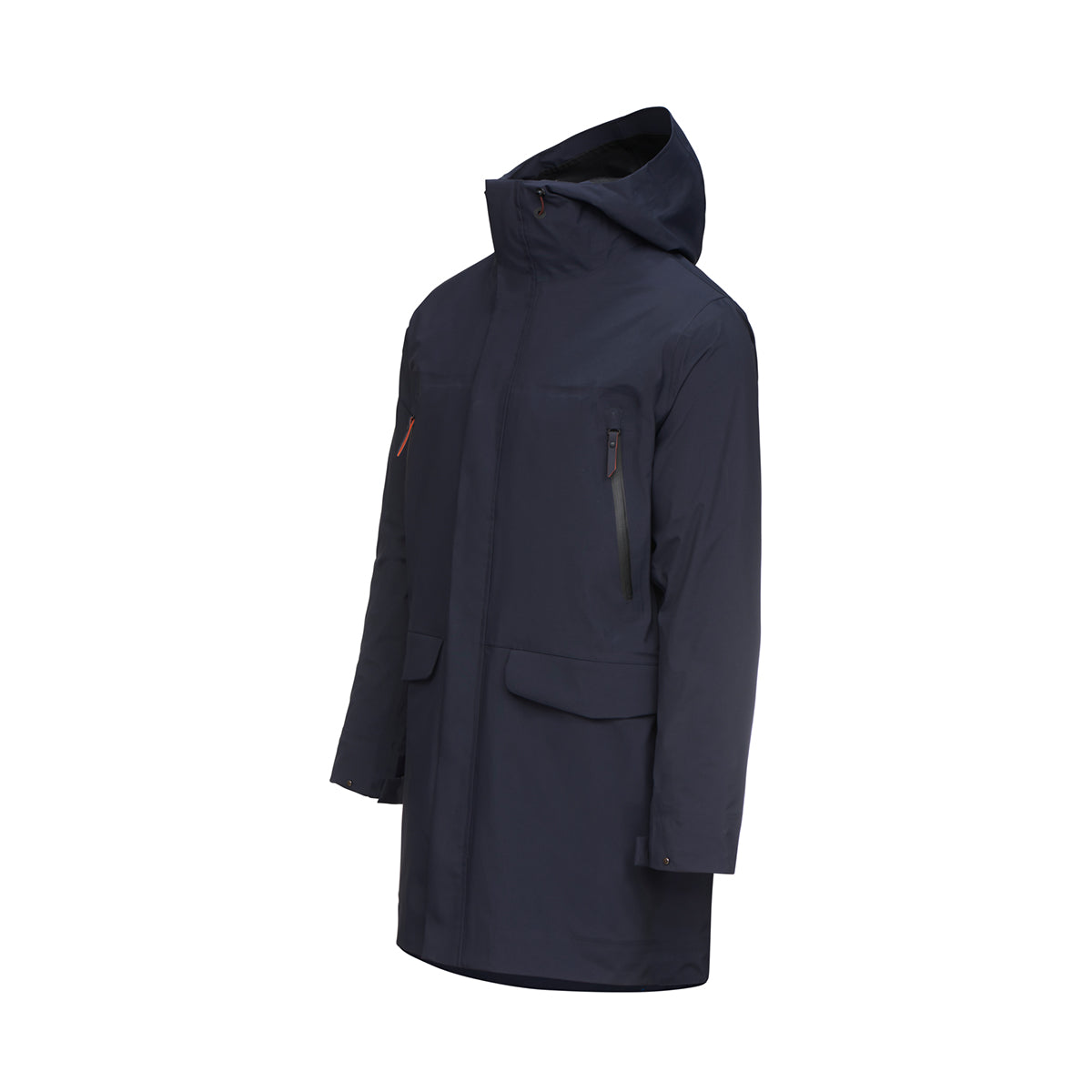 Zurich III Parka - background::white,variant::navy
