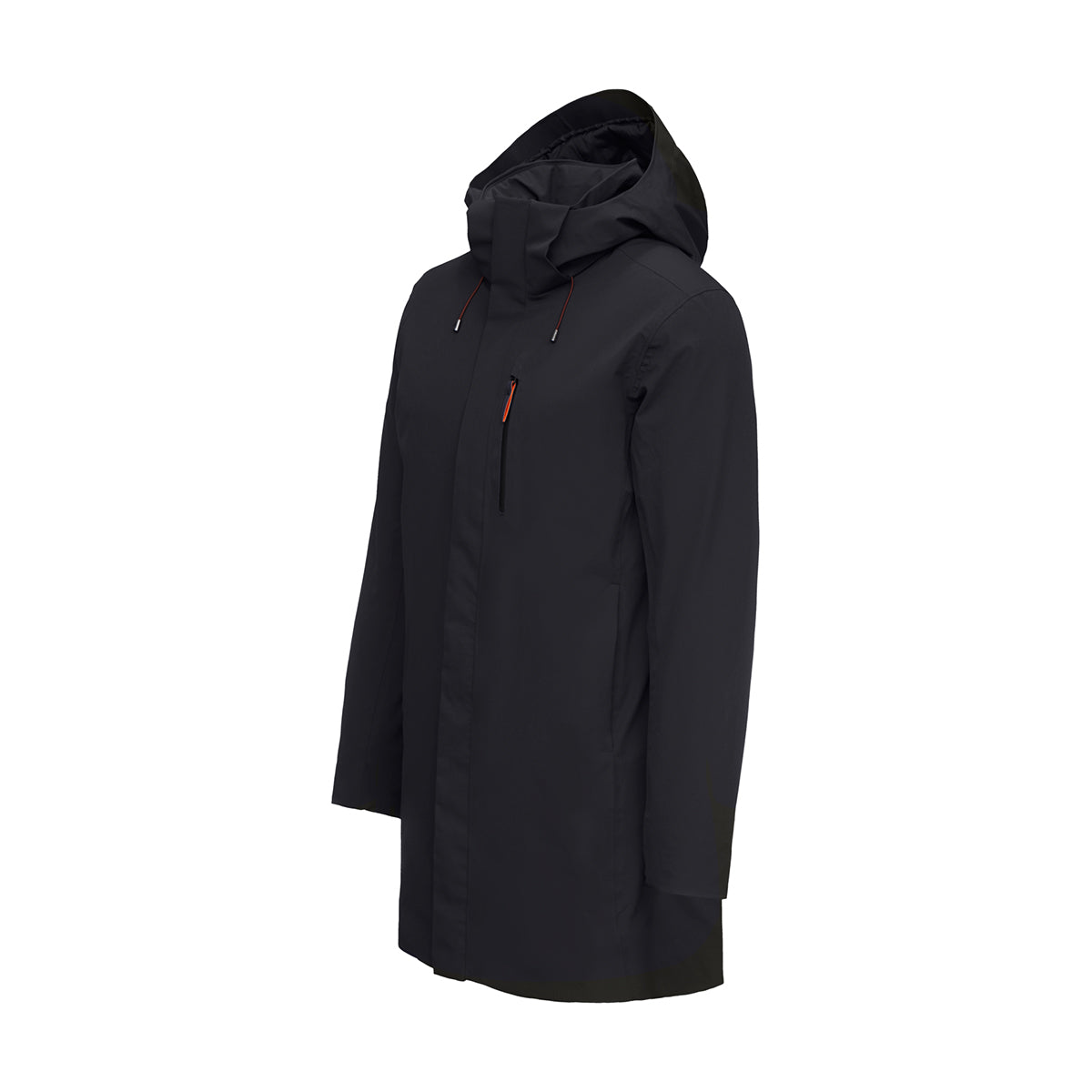 Grenoble II Parka - background::white,variant::black