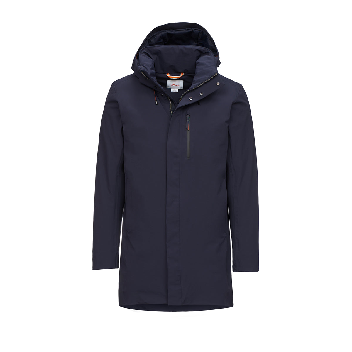 Grenoble II Parka - background::white,variant::navy