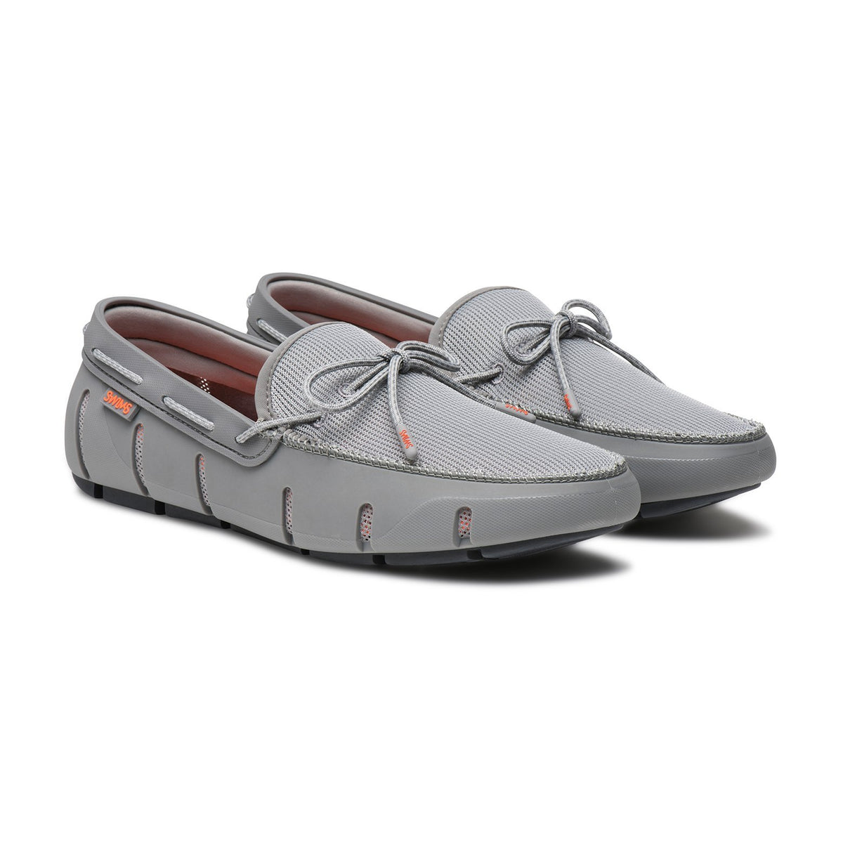 Stride Lace Loafer - background::white,variant::Gray/Gray Fleck
