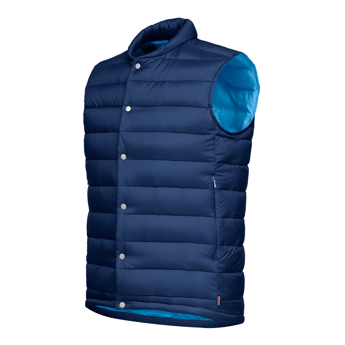 Motion Lite Vest - background::white,variant::Navy