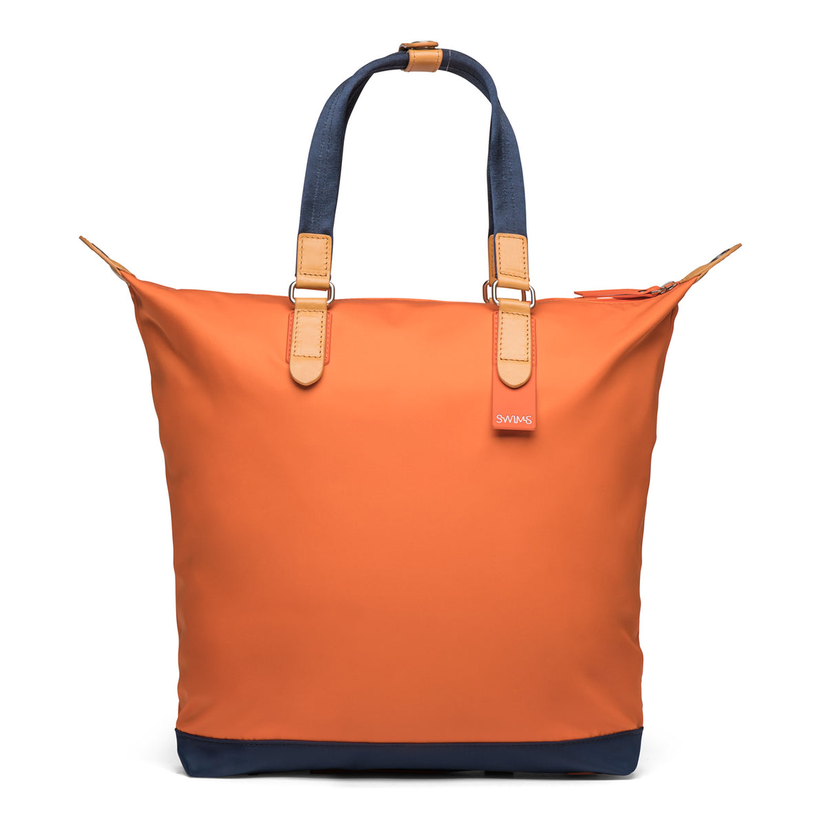 Tote - background::white,variant::Swims Orange
