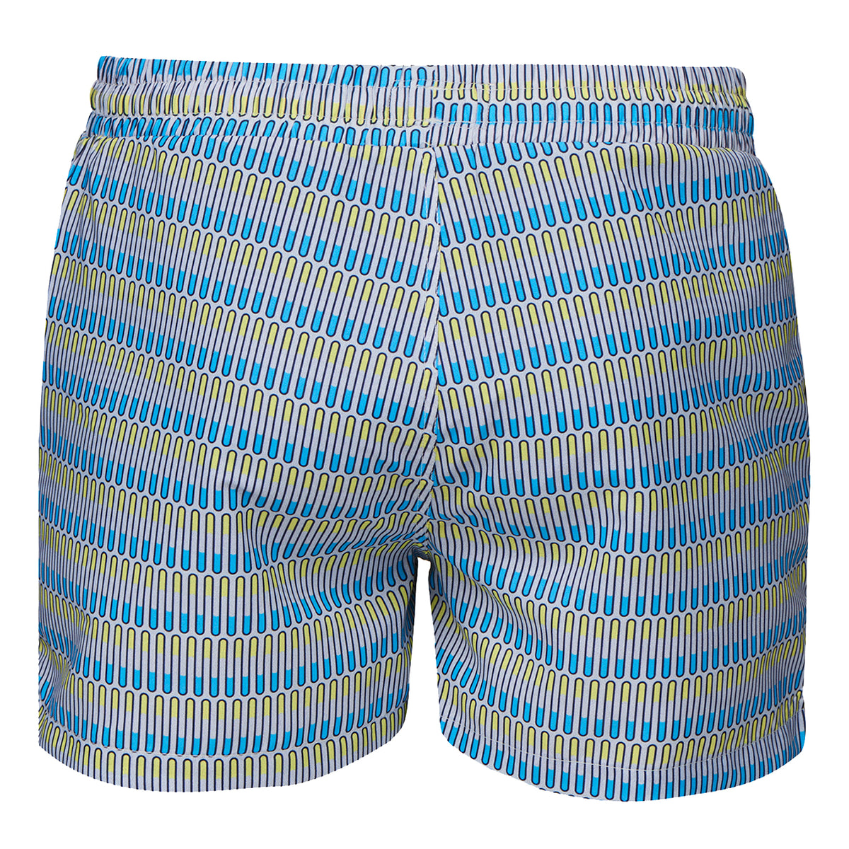 Breeze Swimshort - background::white,variant::Norse Wave