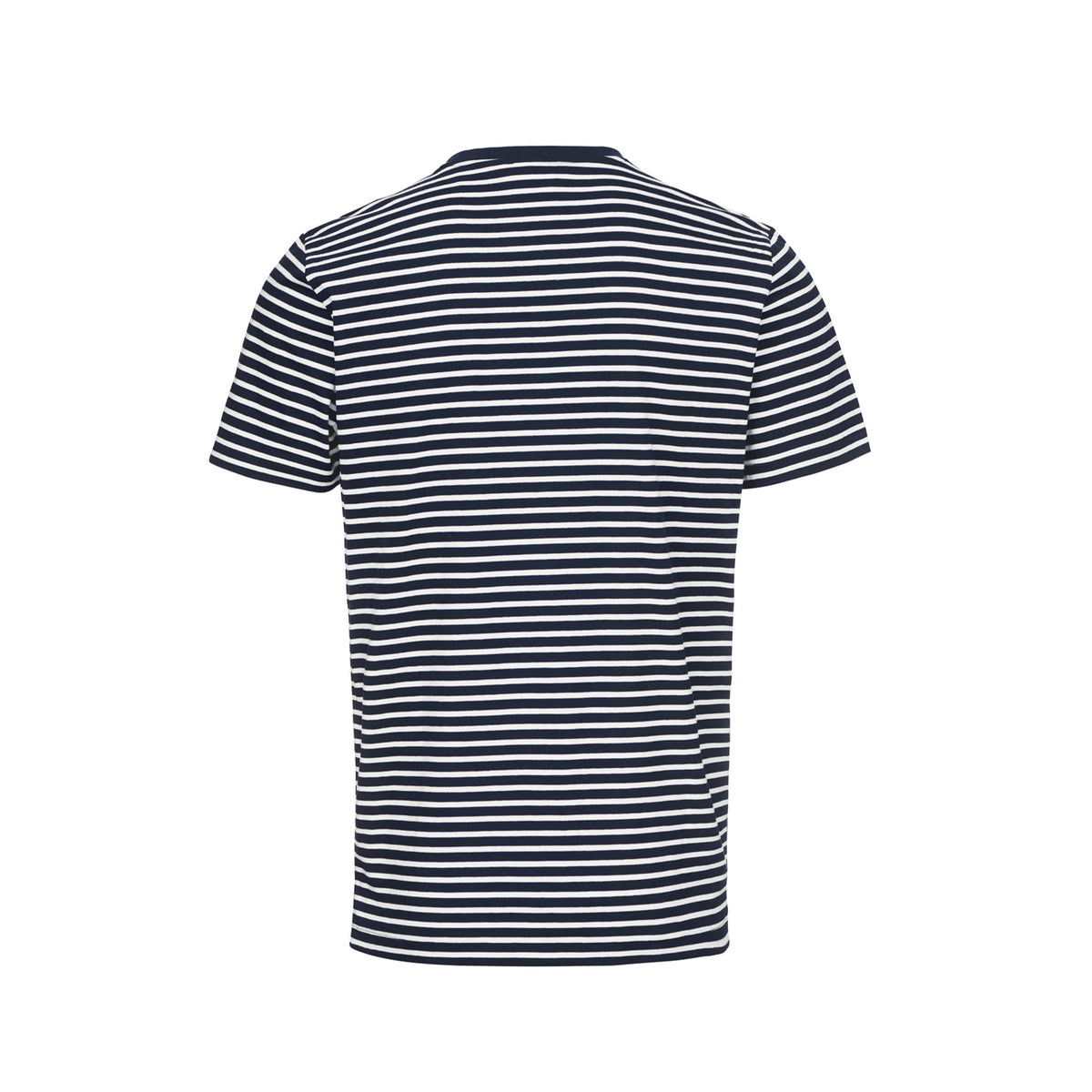 Breeze Malibu Stripe T-Shirt - background::white,variant::Bright White