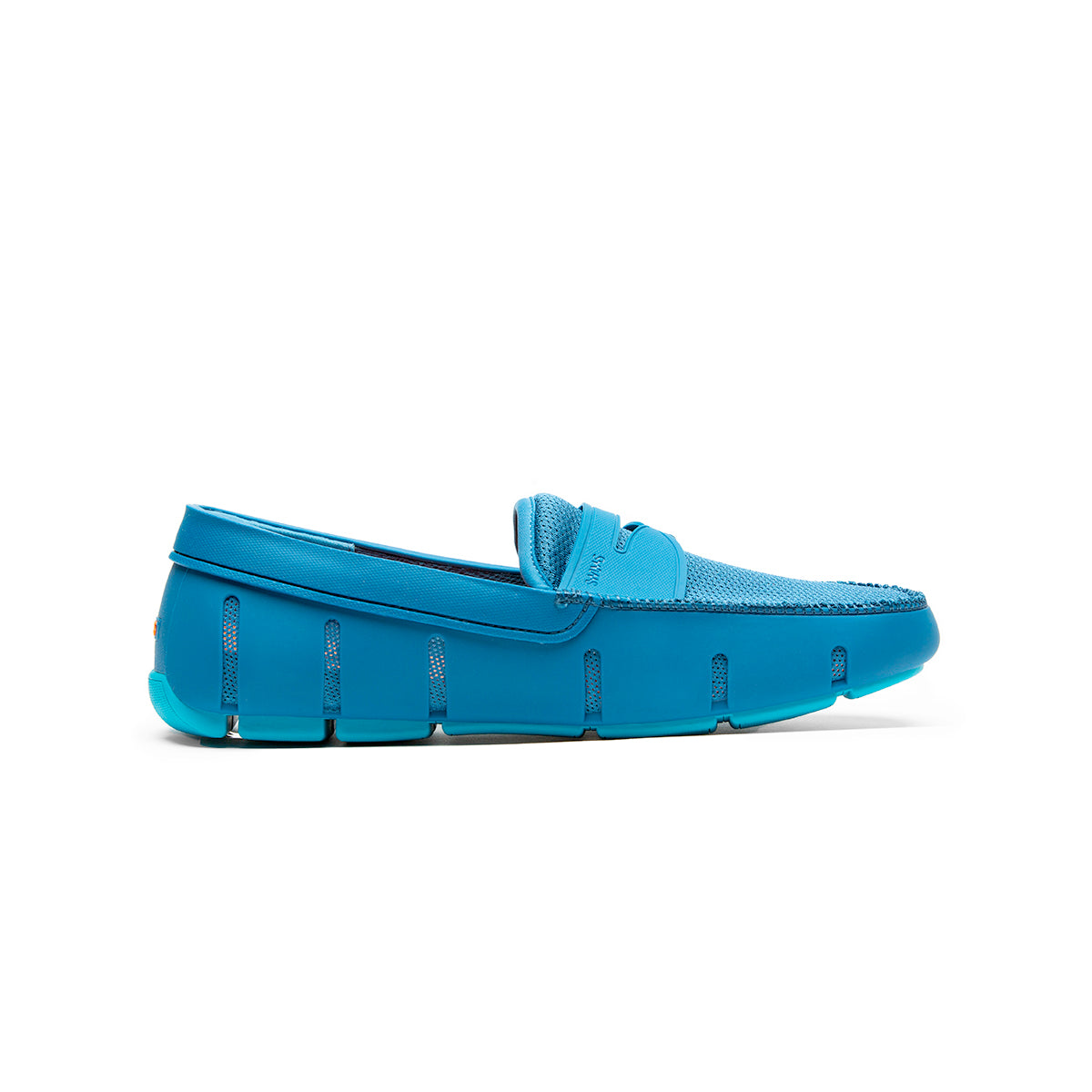 Penny Loafer - background::white,variant::blue