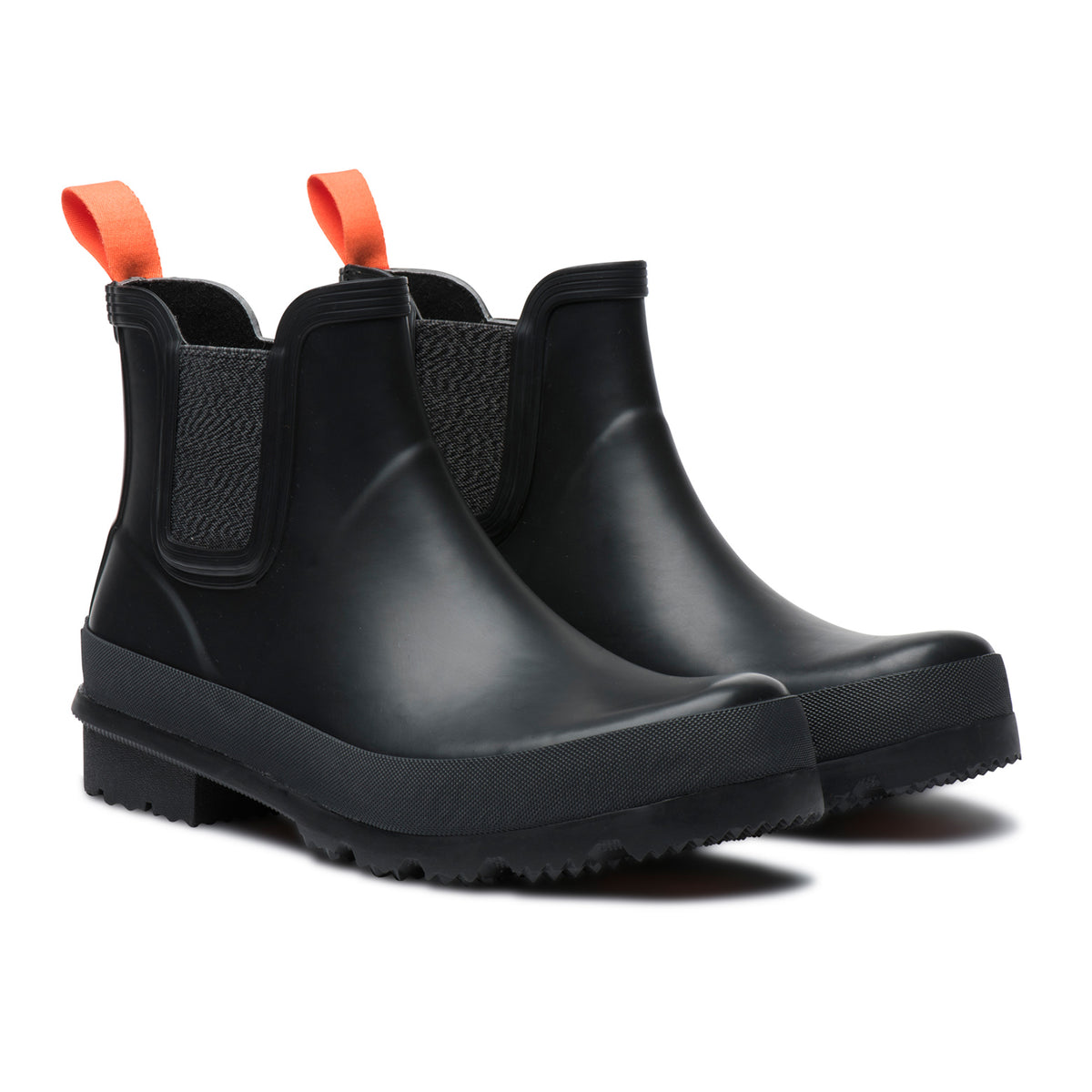 Charlie Rain Boot - background::white,variant::Black