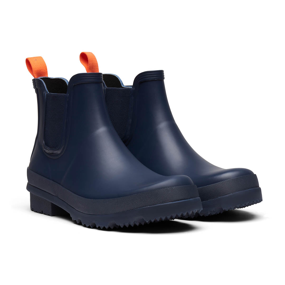 Charlie Rain Boot - background::white,variant::Navy