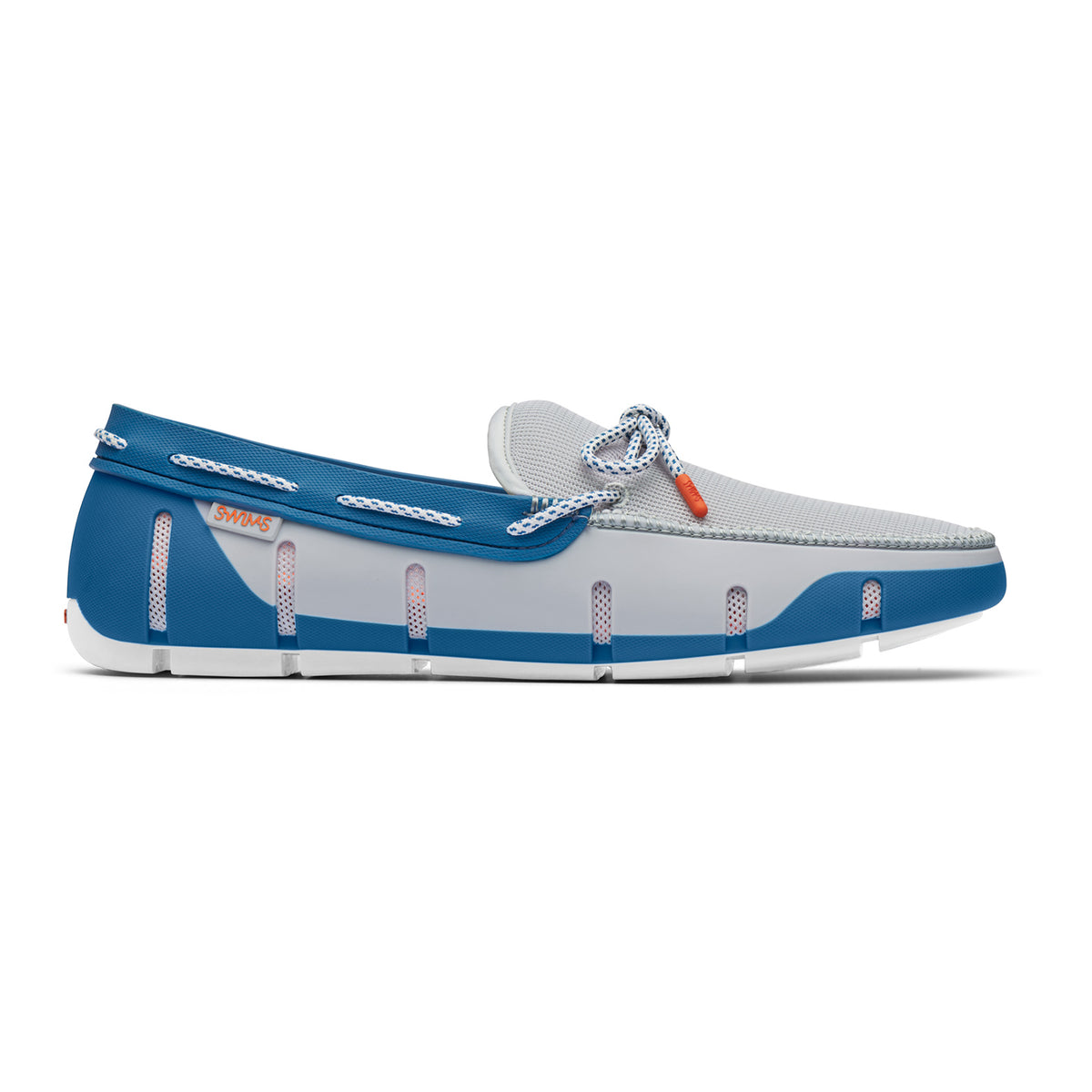 Stride Lace Loafer - background::white,variant::Alloy/Seaport Blue