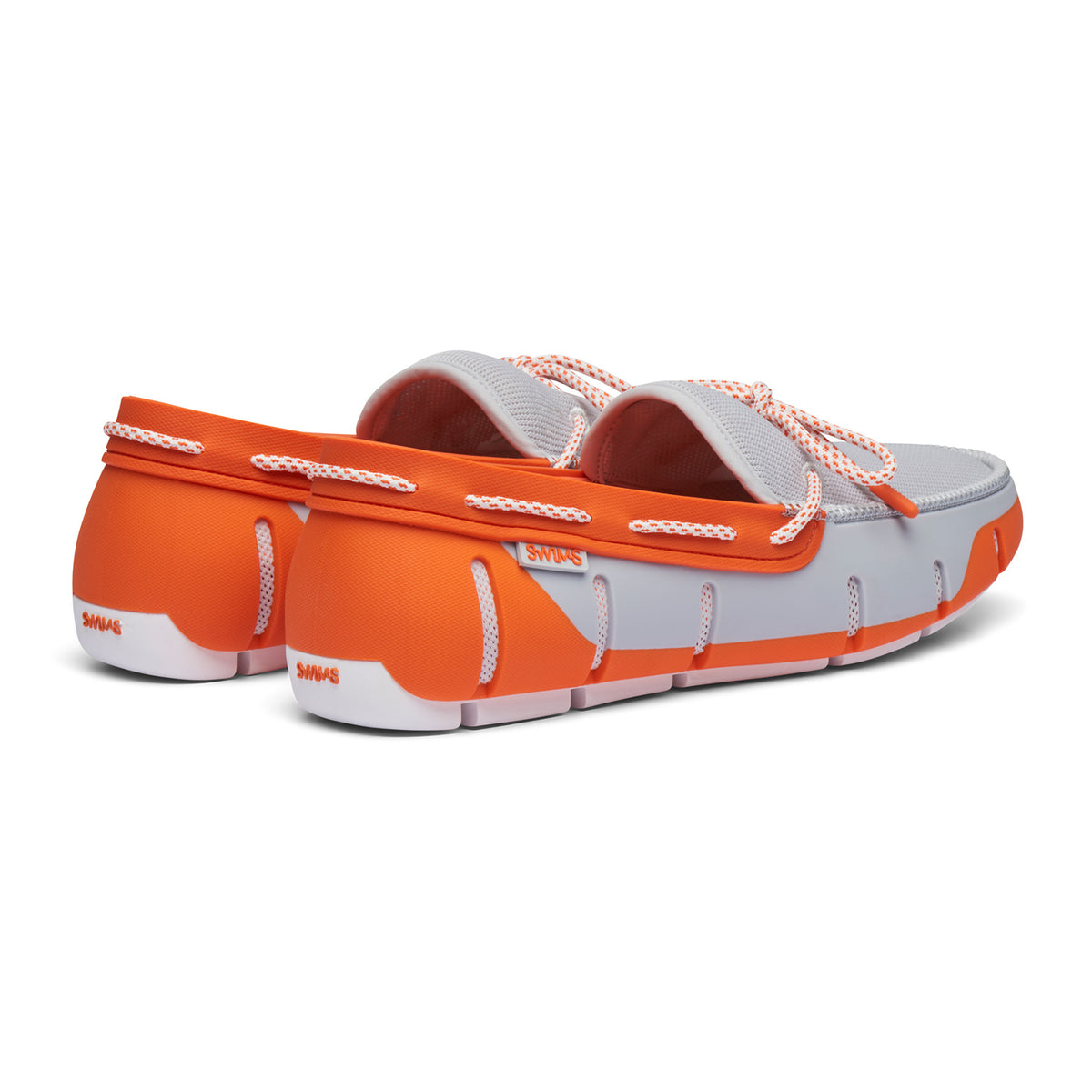 Stride Lace Loafer - background::white,variant::Alloy/Orange