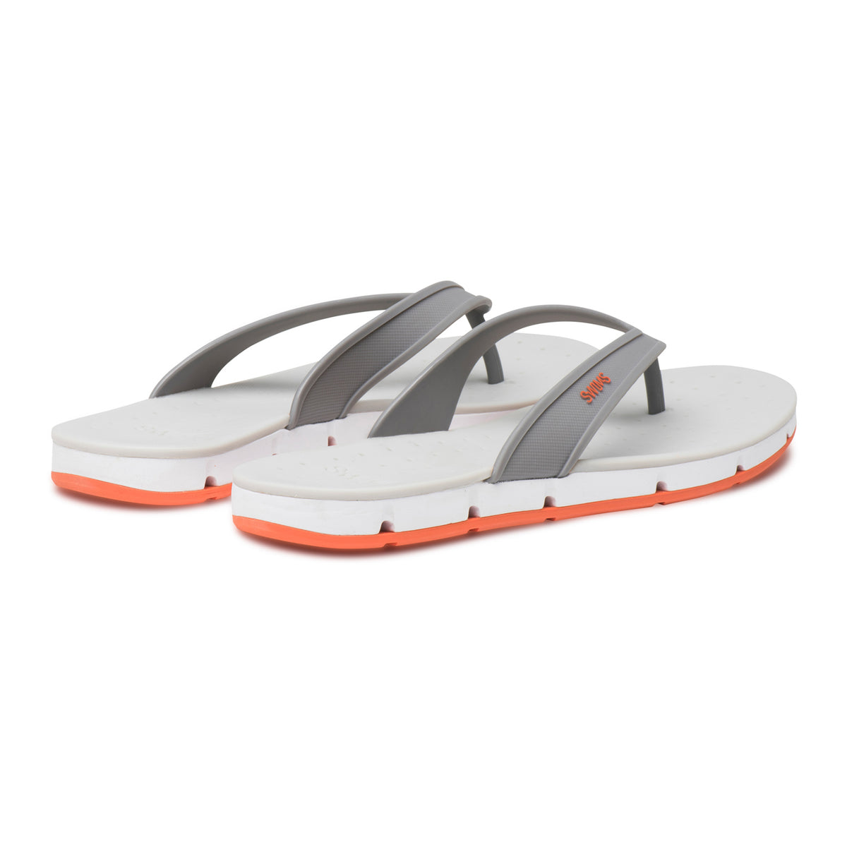Breeze Thong Sandal - background::white,variant::Gray/White/Orange
