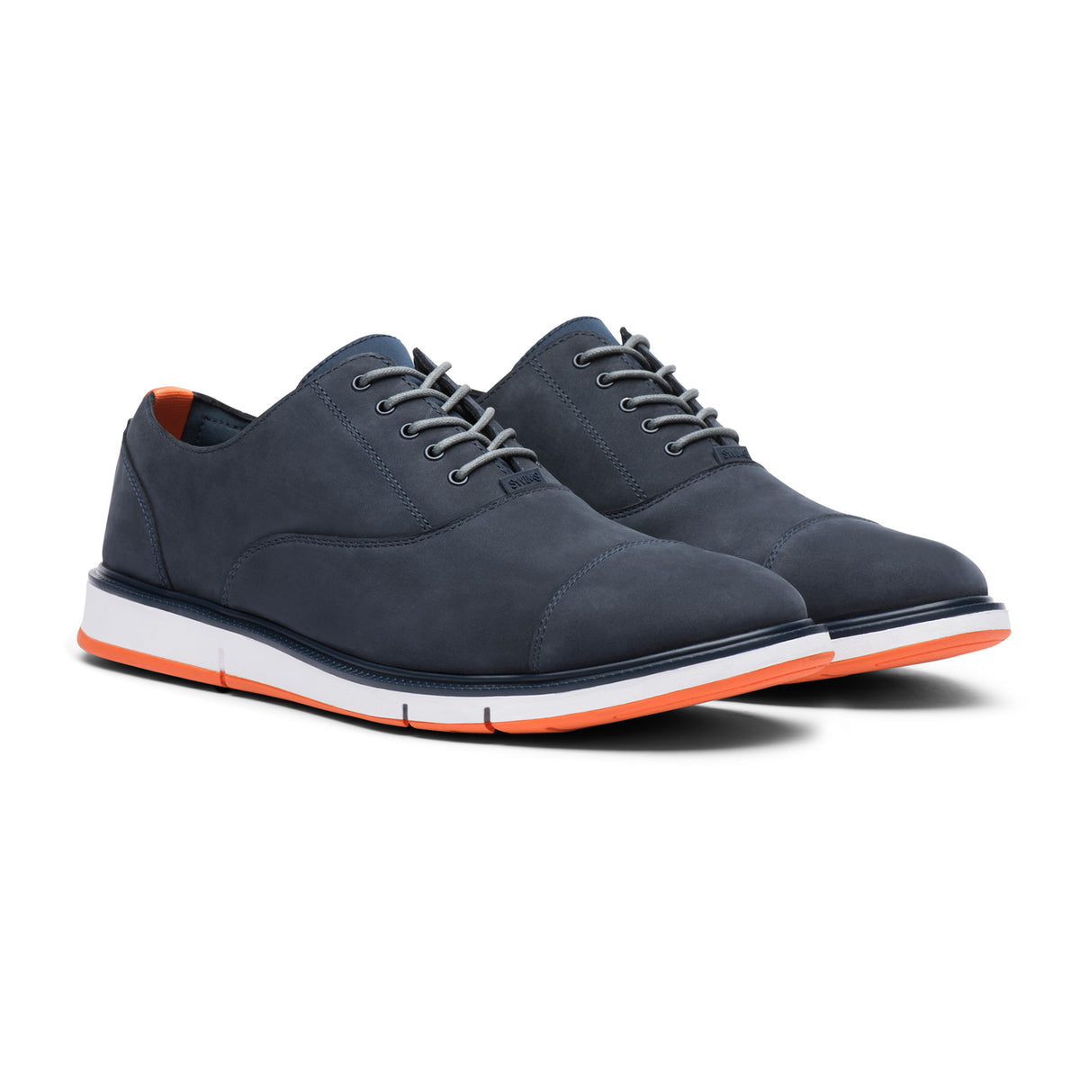 Motion Cap Toe - background::white,variant::Navy/Orange