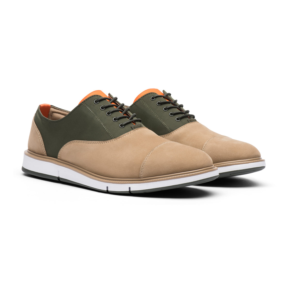 Motion Cap Toe - background::white,variant::Gaucho/Olive