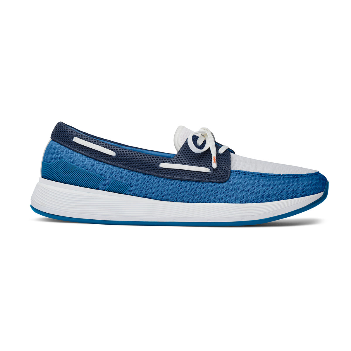 Breeze Wave Boat - background::white,variant::Seaport Blue/Navy