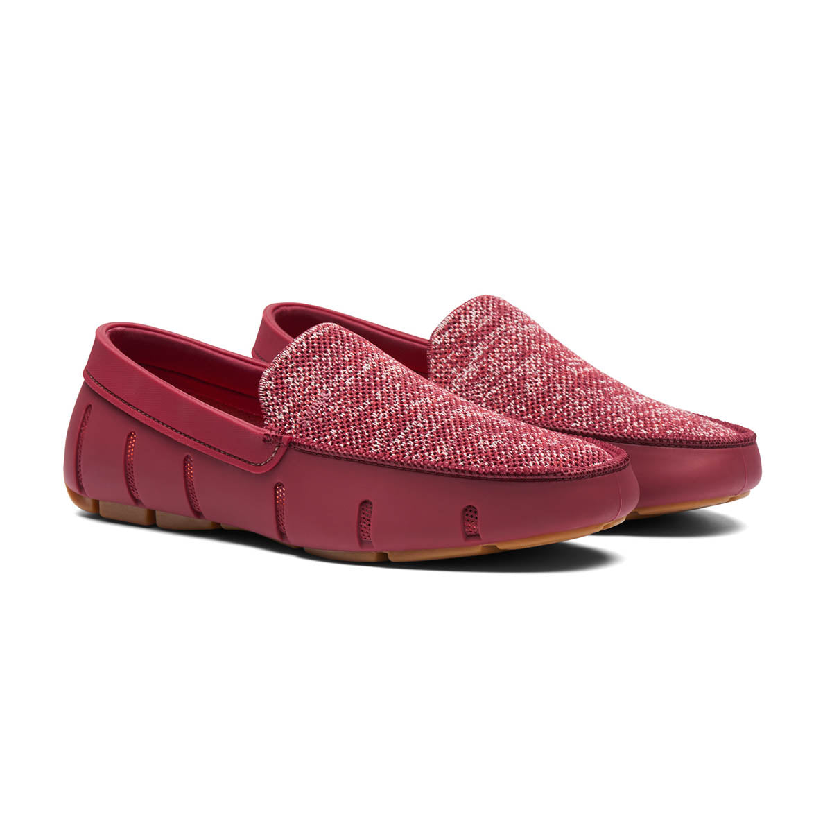 Classic Venetian Loafer - background::white,variant::Cabernet/Gum