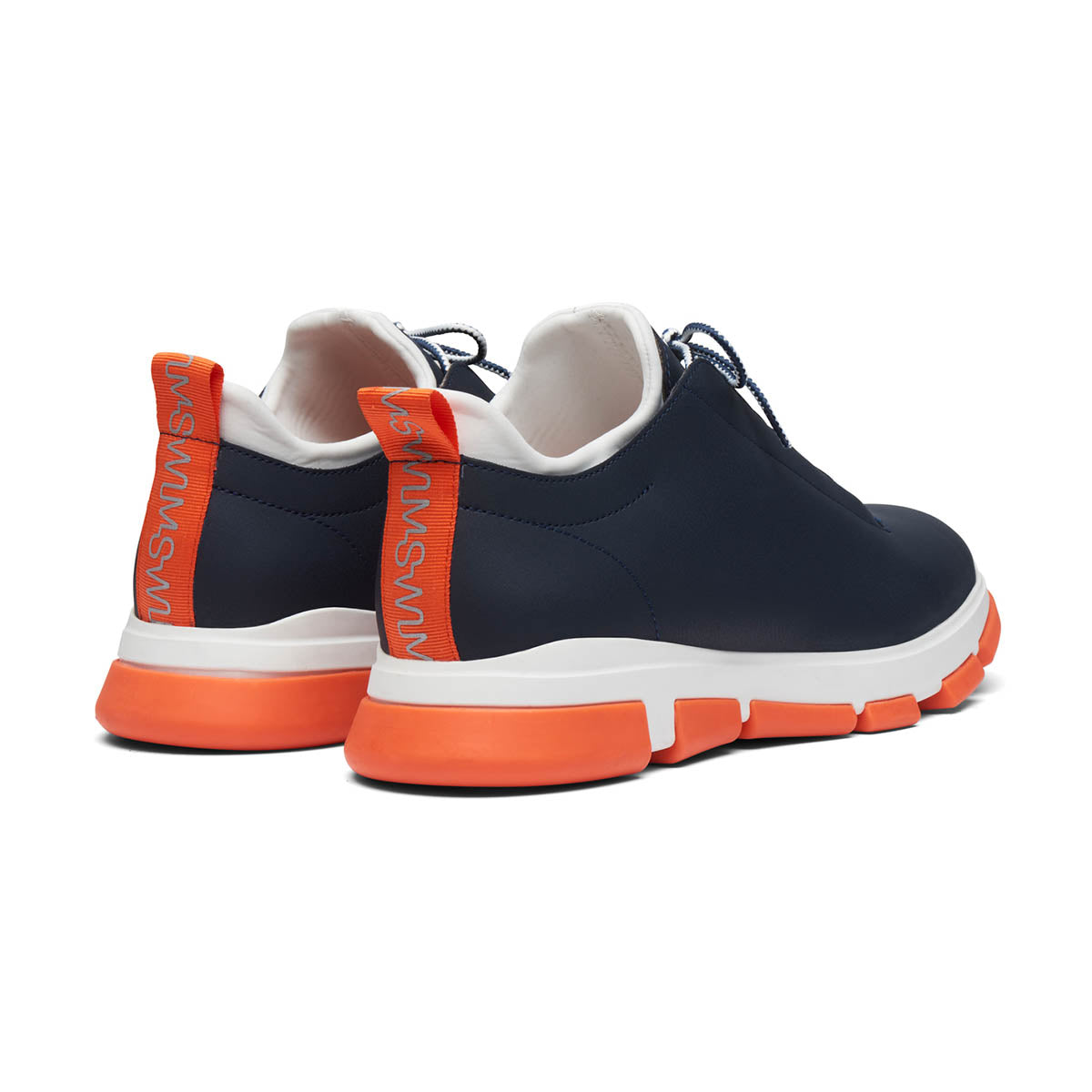 City Hiker Low - background::white,variant::Navy/White/Orange