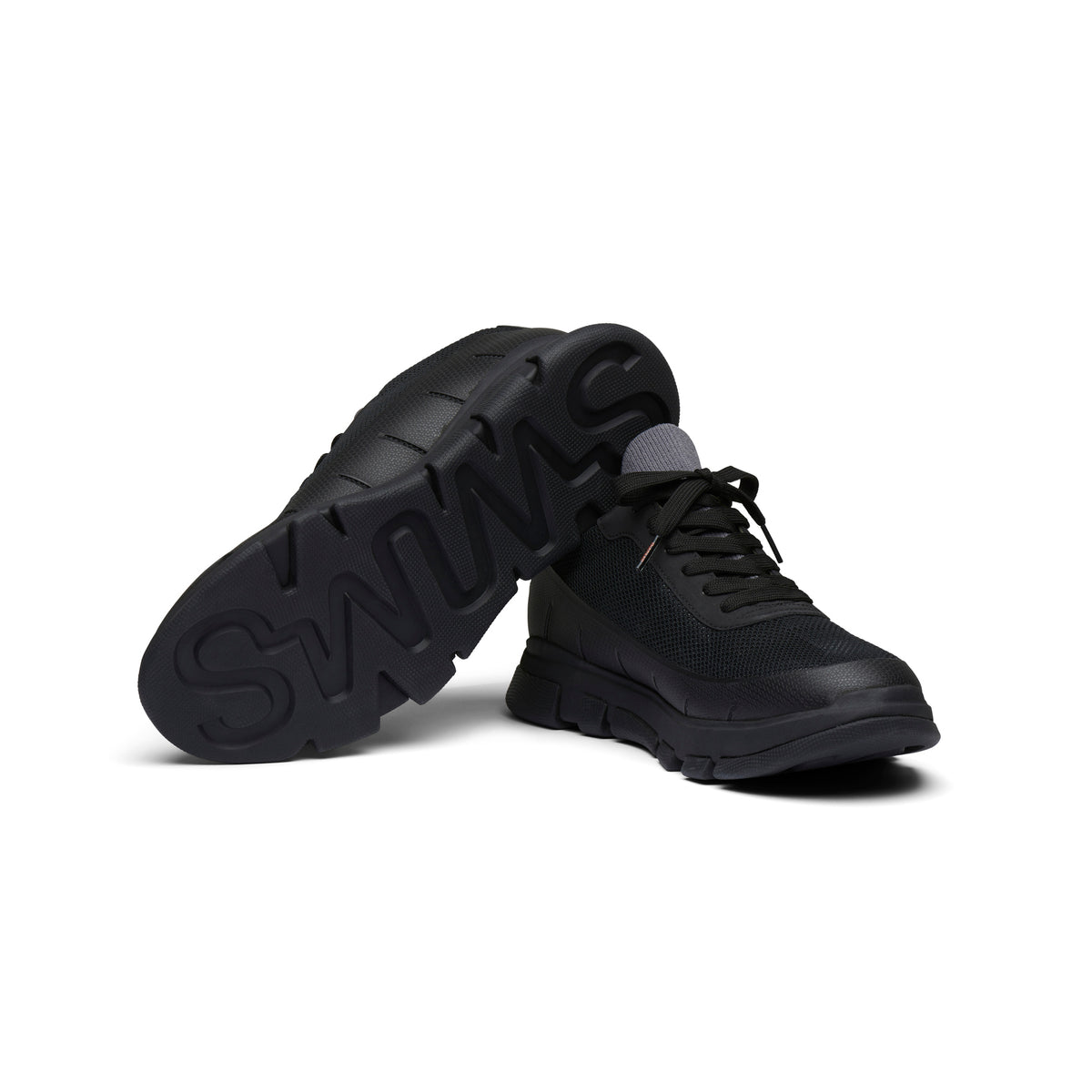 City Hiker Sneaker - background::white,variant::Black/Black