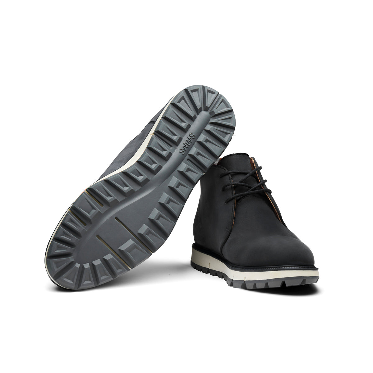 Motion Chukka Lug Sole - background::white,variant::black