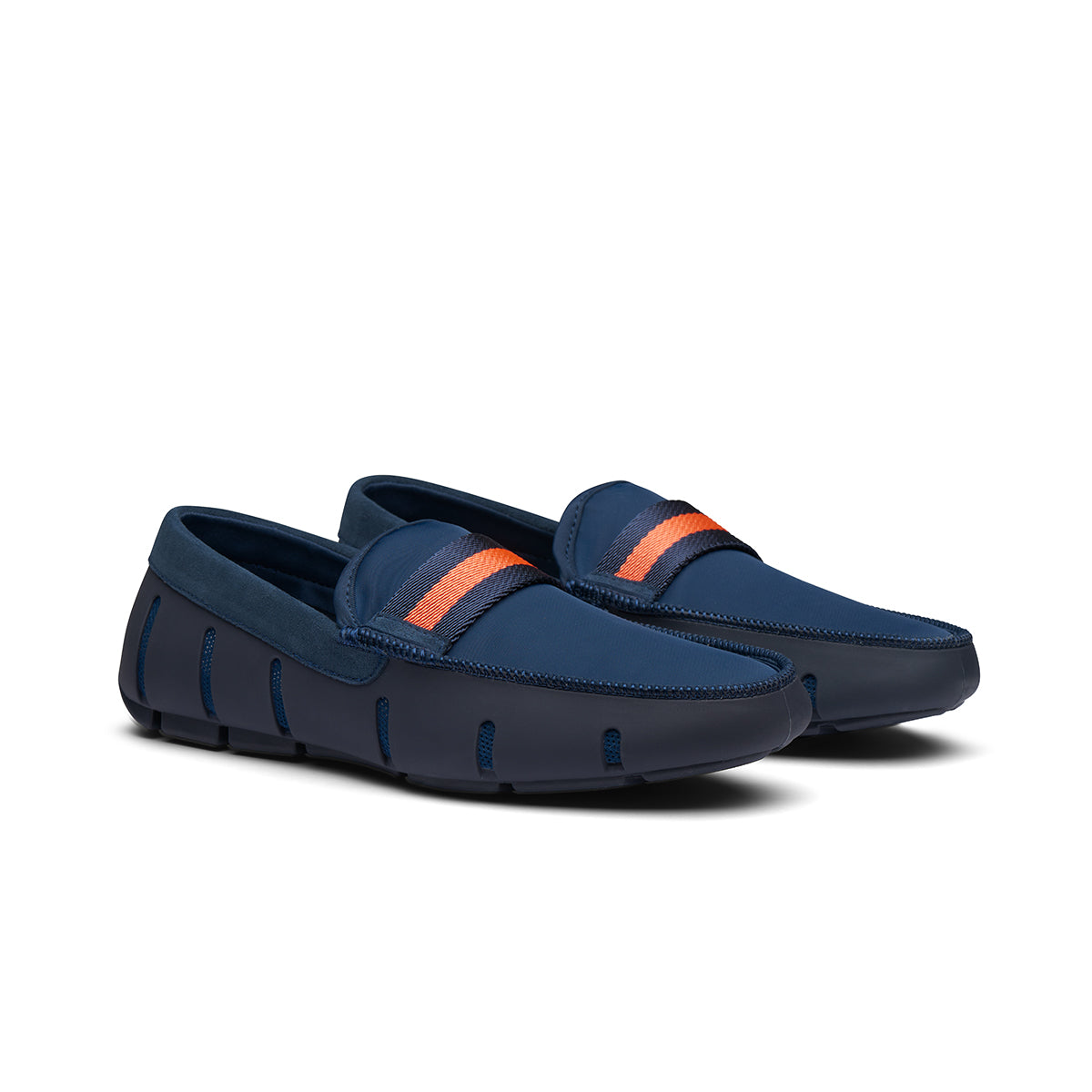 Flex Web Loafer - background::white,variant::Navy