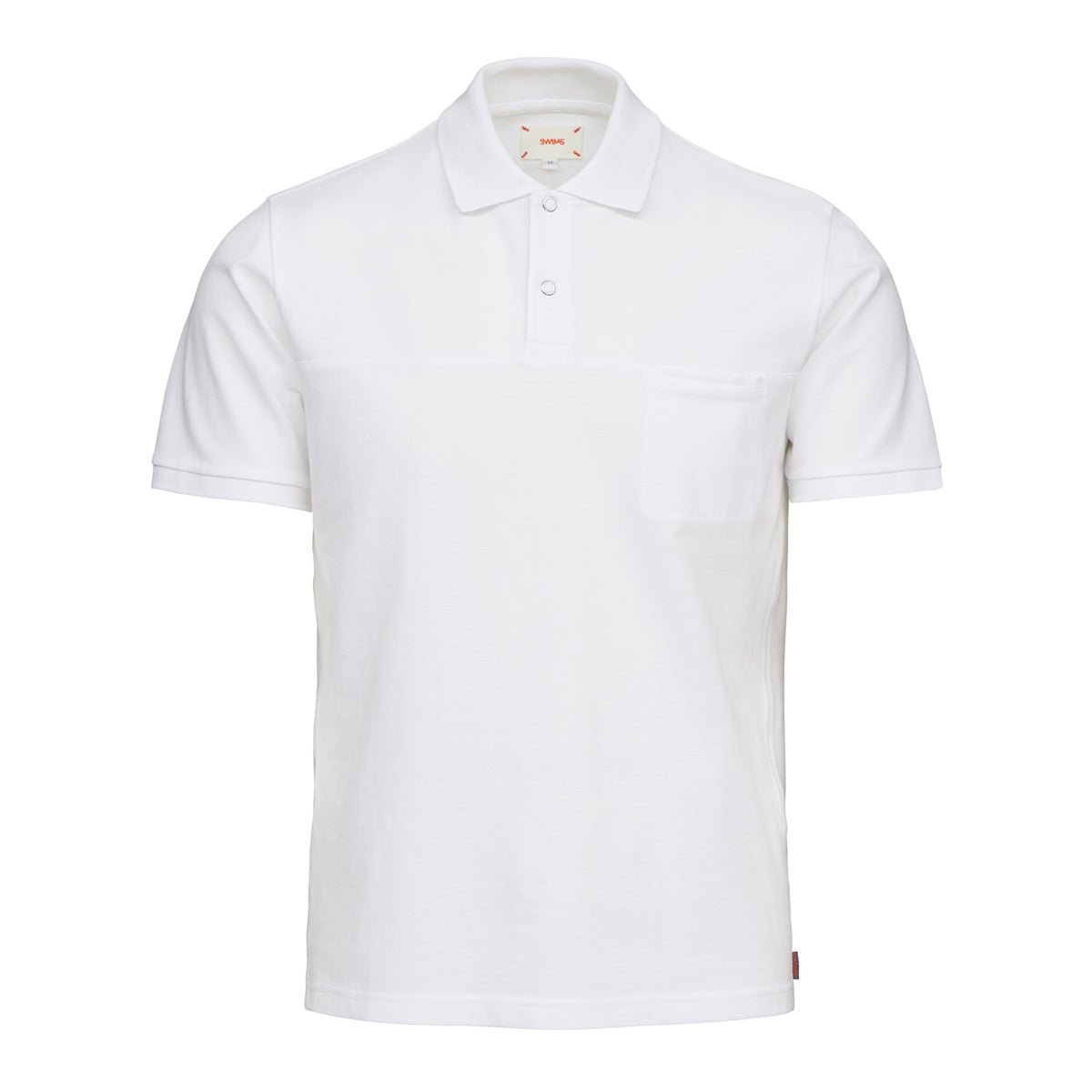 Breeze Polo Shirt - background::white,variant::White