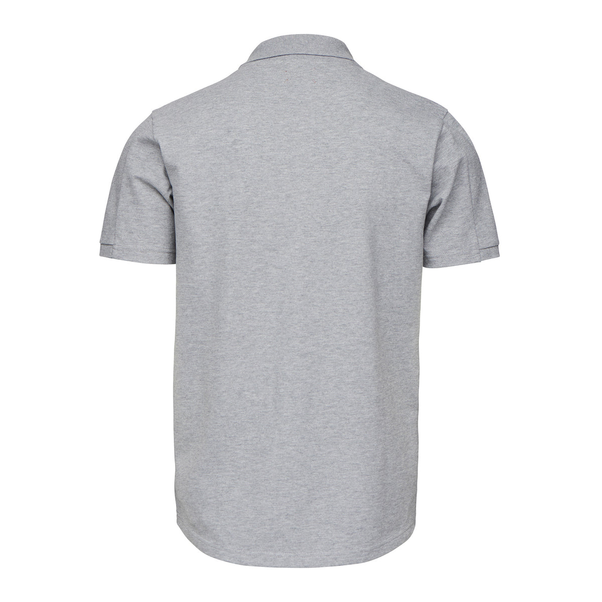 Breeze Polo Shirt - background::white,variant::Gray Melange