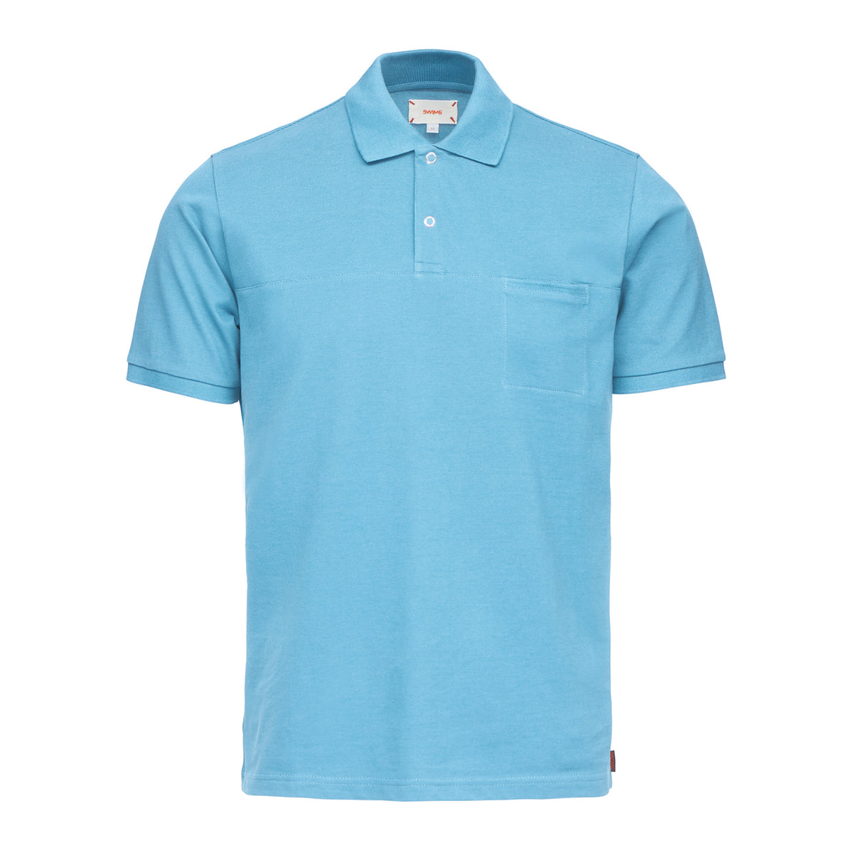 Breeze Polo Shirt - background::white,variant::Norse Blue