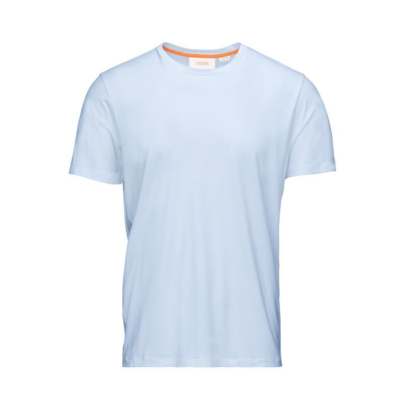 Breeze Ervik T-shirt - background::white,variant::Light Blue