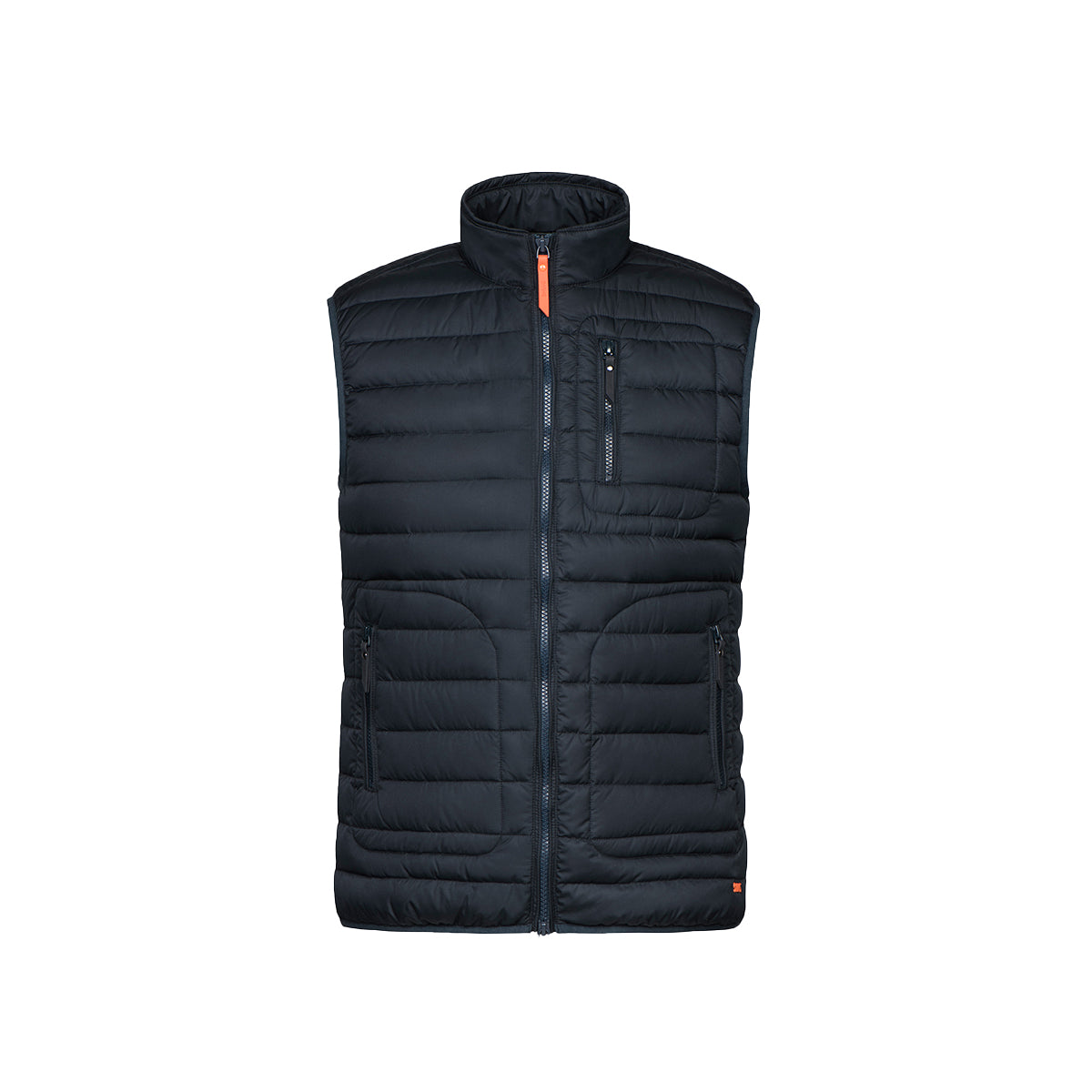 Portland Gilet - background::white,variant::dark navy
