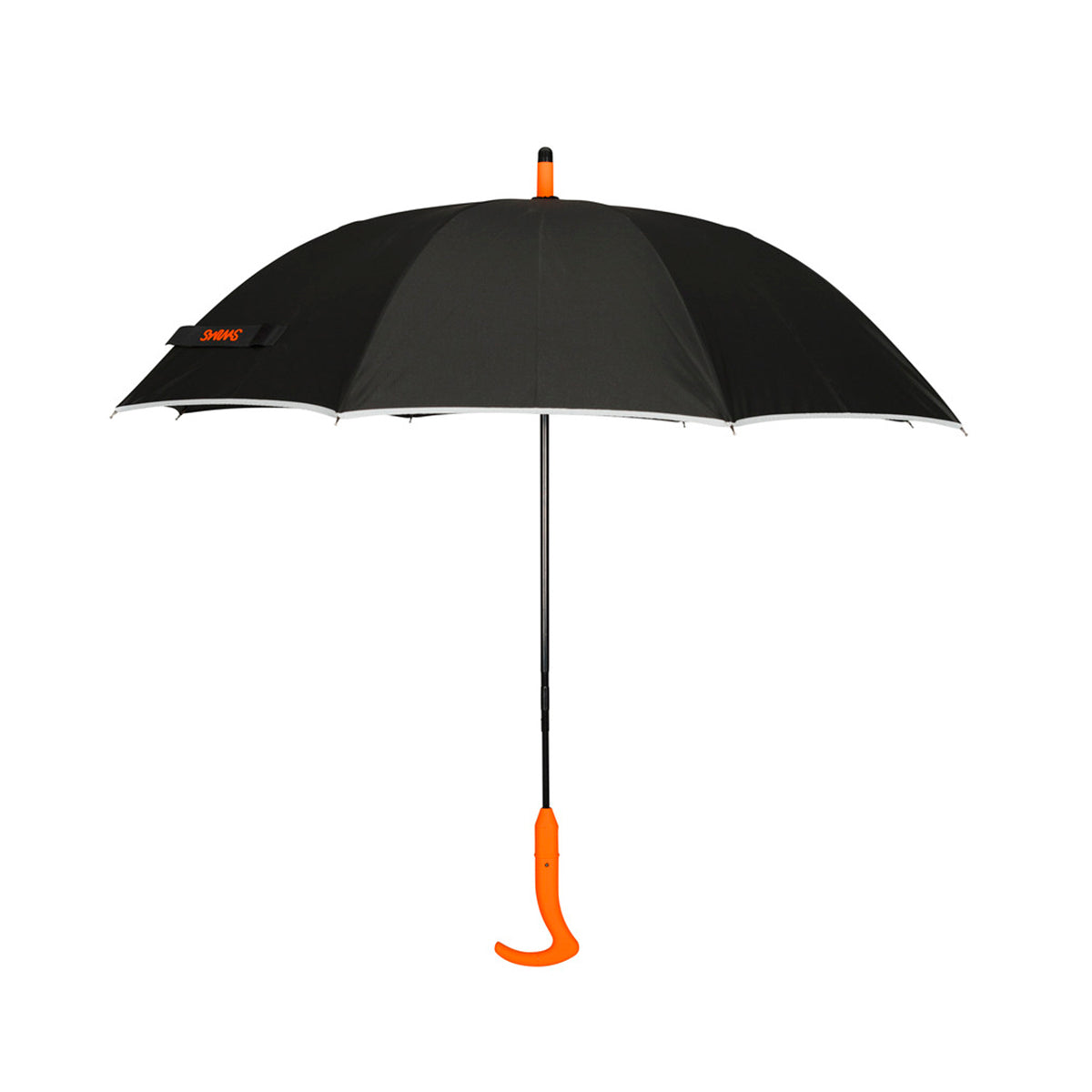 Umbrella Long - background::white,variant::Black/Orange