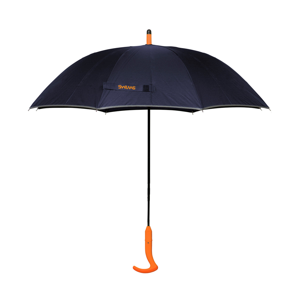 Umbrella Long - background::white,variant::Navy/Orange