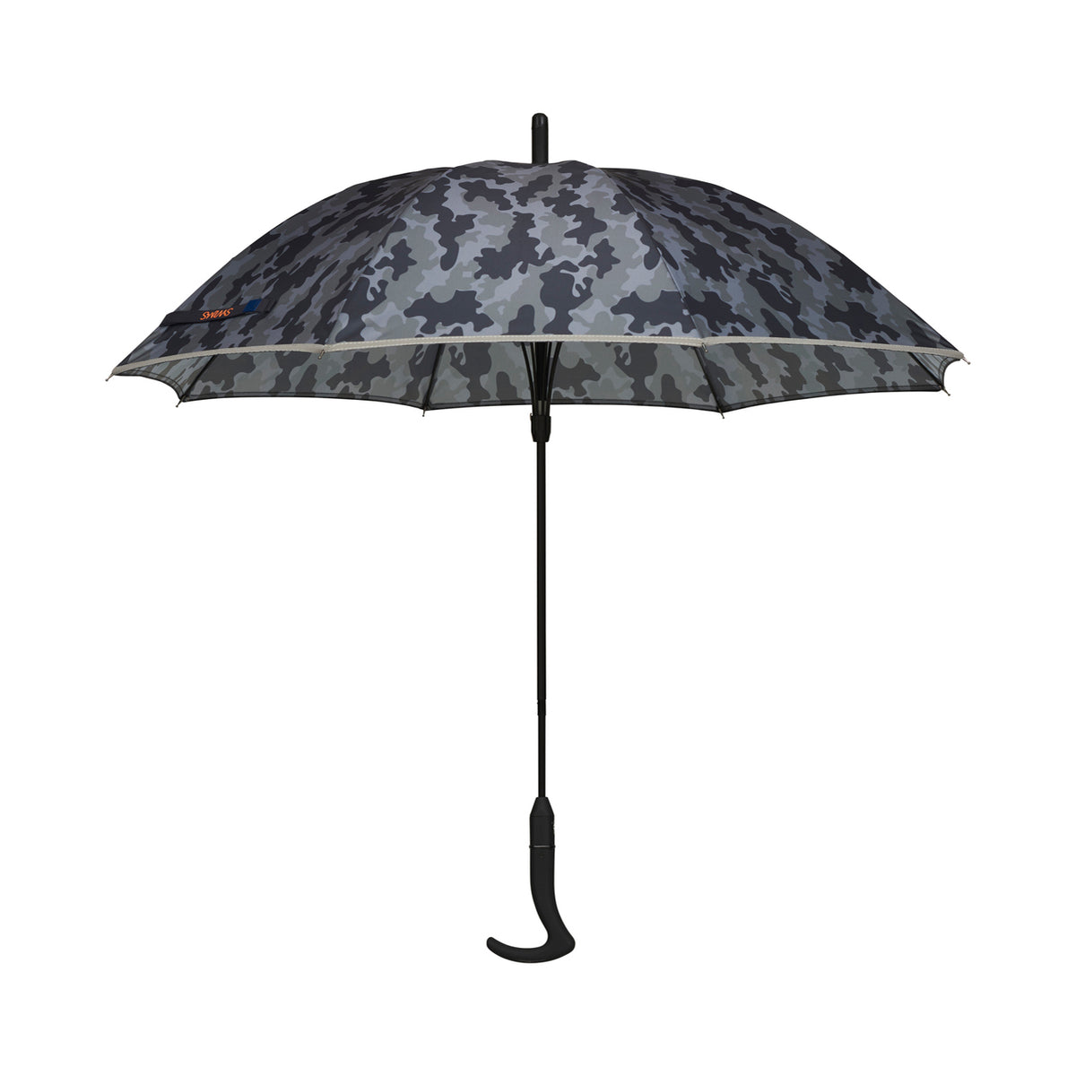 Umbrella Long - background::white,variant::Night Camo/Black