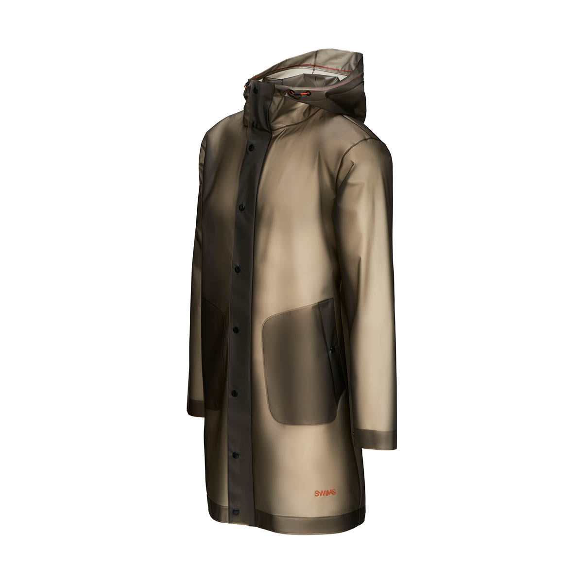 Basel Raincoat - background::white,variant::Graphite