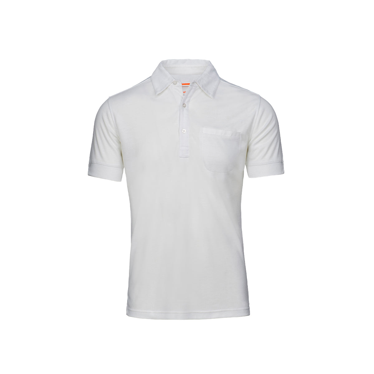 Getaria Pique Polo - background::white,variant::white