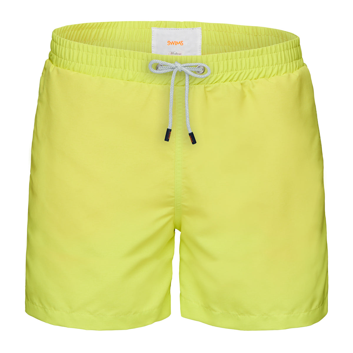 Breeze Swimshort Long - background::white,variant::Limeade