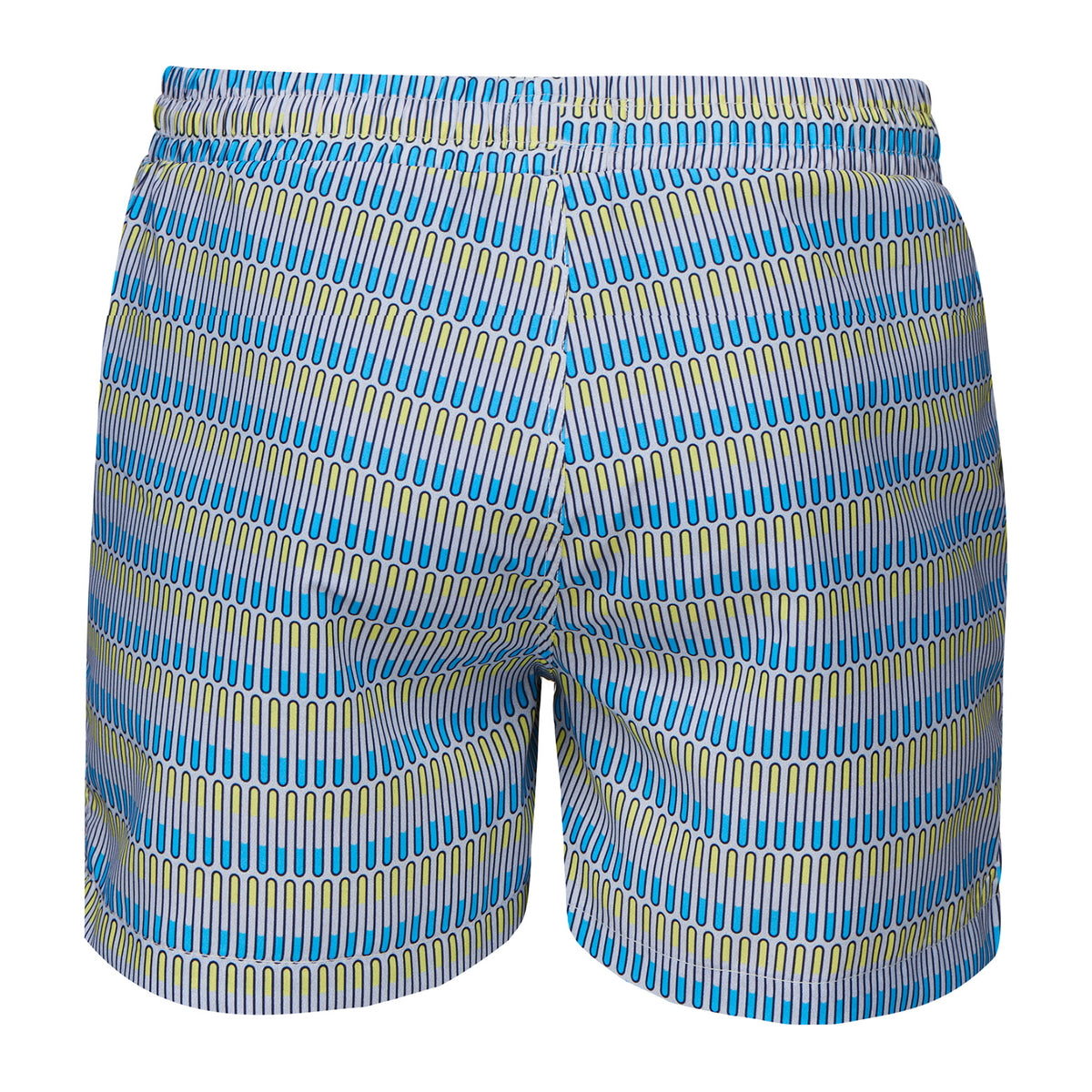 Breeze Swimshort Long - background::white,variant::Norse Wave