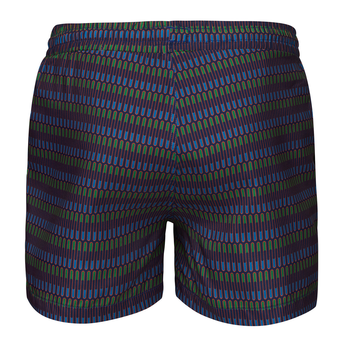 Breeze Swimshort Long - background::white,variant::Jolly Wave
